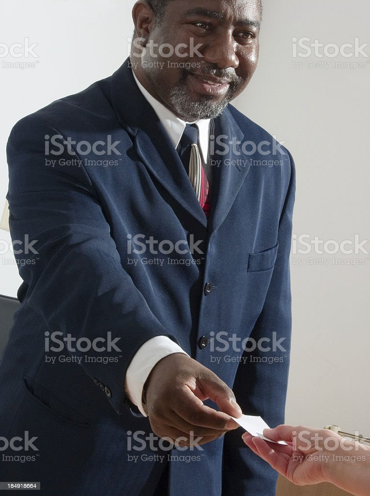 Businessman series I royalty-free stock photo