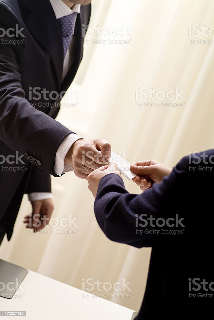 Businessman Series royalty-free stock photo