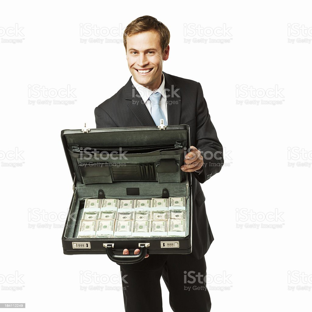 Image result for briefcase of money