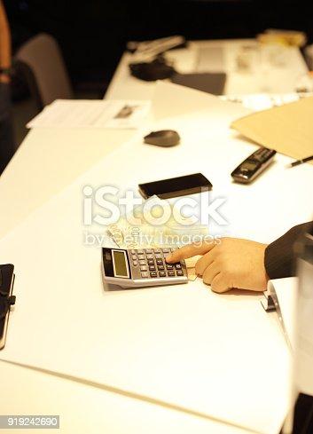 659493026istockphoto Businessman signing 919242690