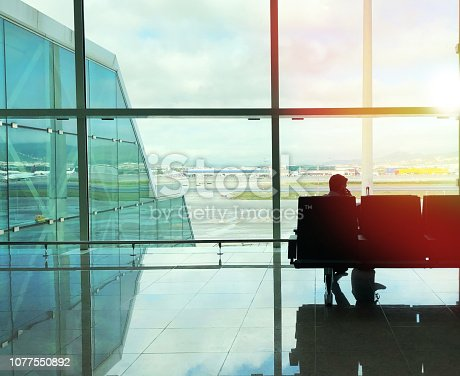 istock Businessman speaking on the phone 1077550892
