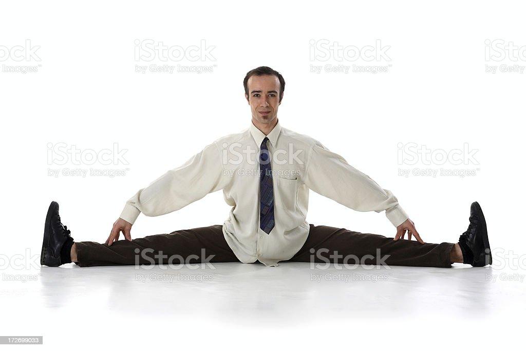 Businessman Split royalty-free stock photo