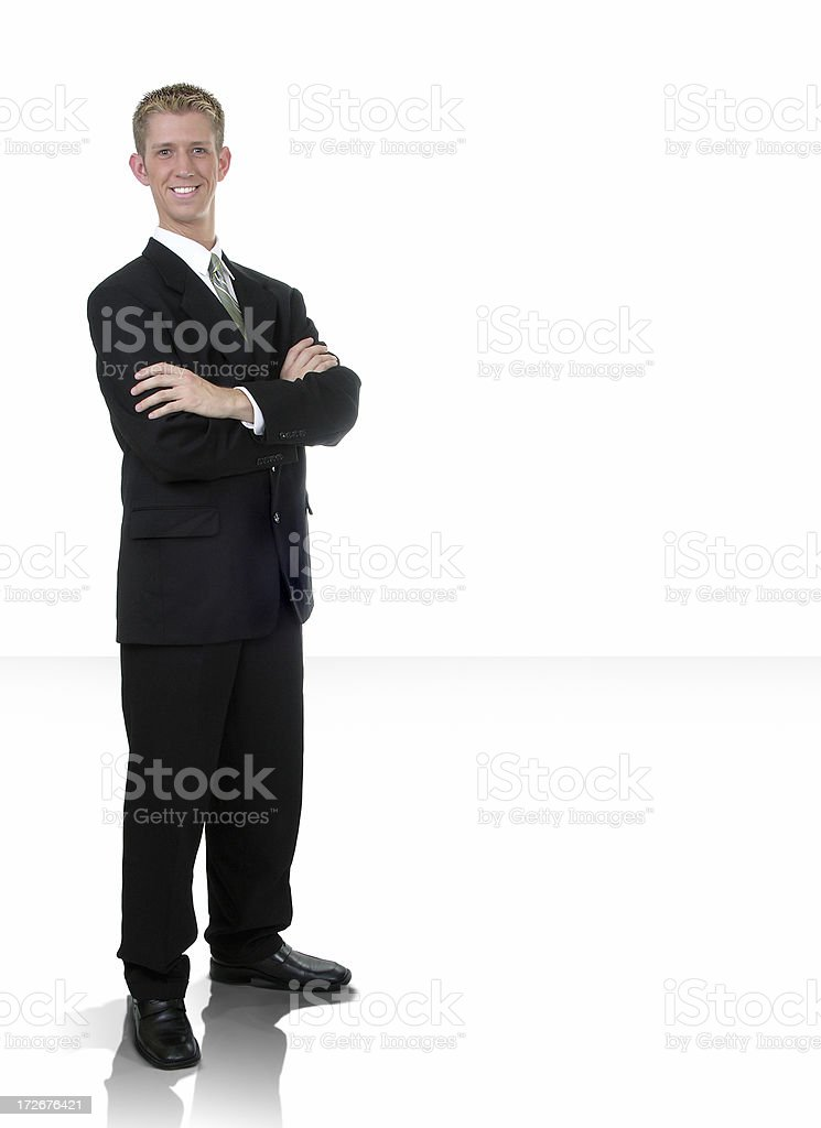 Businessman Standing royalty-free stock photo