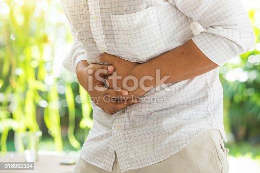 istock Businessman stomachache 916932334