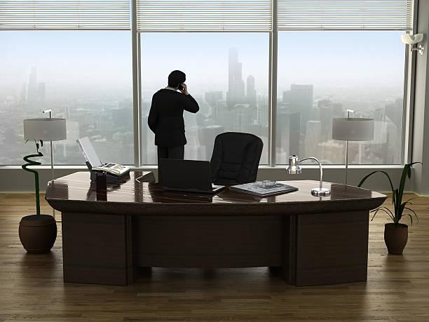 бизнесмен, говорящий по телефону - президент стоковые фото и изображения