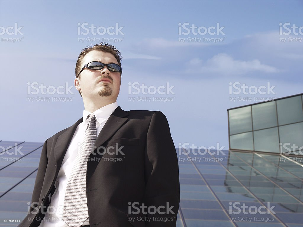 Businessman - The Vision stock photo