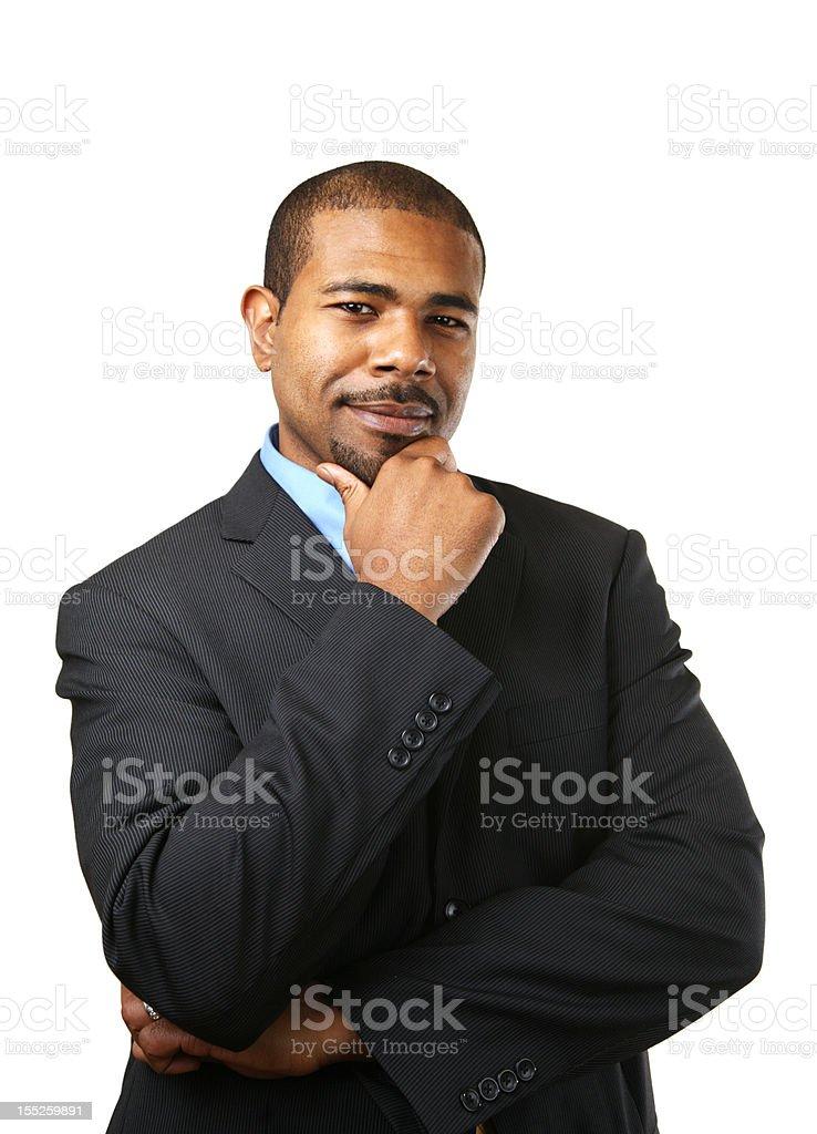 Geschäftsmann Denken – Foto