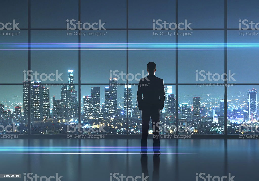 businessman thinking - Royalty-free Adult Stock Photo
