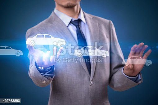 683425144 istock photo Businessman Touching Insurance Concept 495763890