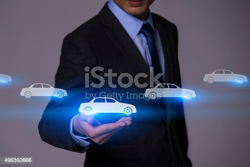 683425144 istock photo Businessman Touching Insurance Concept 496360666