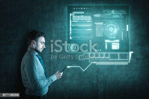1016971522istockphoto Businessman using smartphone. 927108056