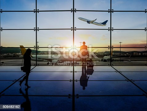 509630674 istock photo Businessman Waiting Departure 509483162