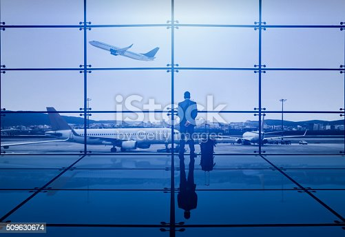 istock Businessman Waiting Departure 509630674