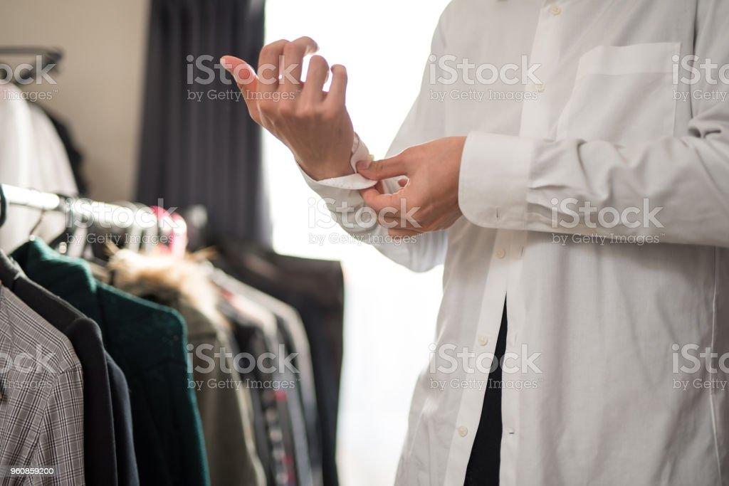 服を着ているビジネスマン ストックフォト