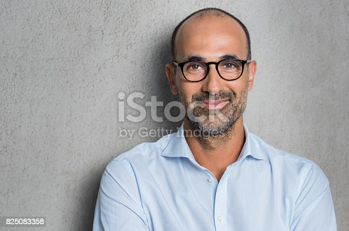 istock Businessman wearing eyeglasses 825083358