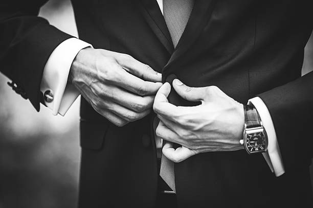 businessman who wears a suit - wedding fashion stock photos and pictures