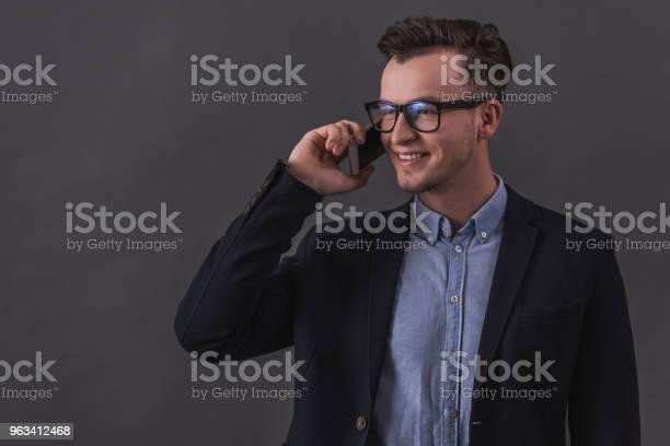 Biznesmen Z Gadżetem - zdjęcia stockowe i więcej obrazów Biznes