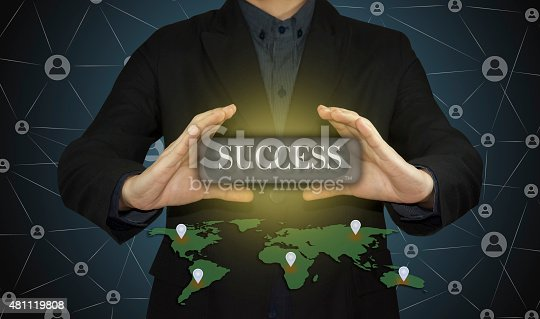684803840istockphoto businessman working success as concept. 481119808