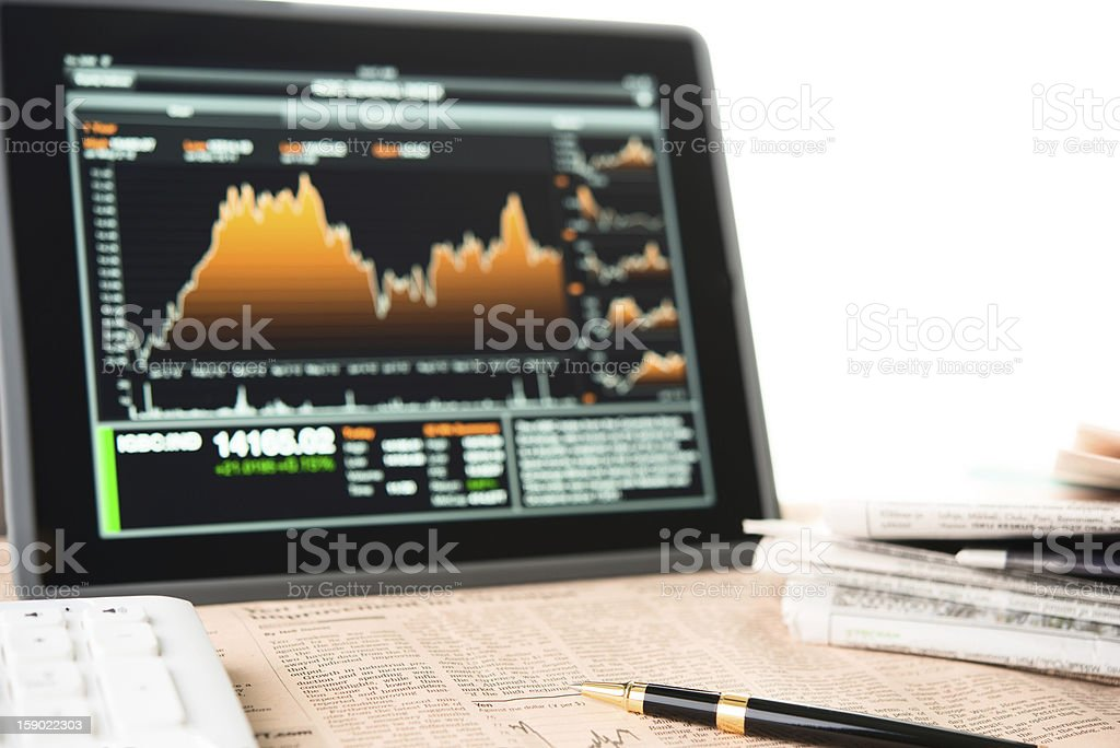 businessman workplace royalty-free stock photo
