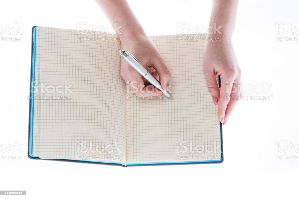 Businessman Write Legal Documents Clipboard In Hands