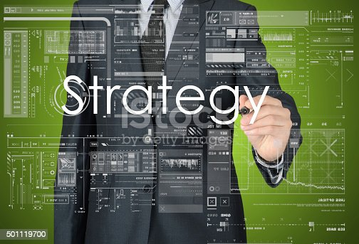 istock businessman writing business strategy concept 501119700