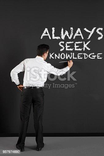 istock businessman writing  customer service topics 937974692