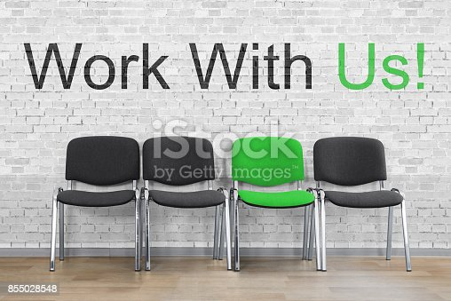 istock Businessman Yawning While Sitting On Chair 855028548
