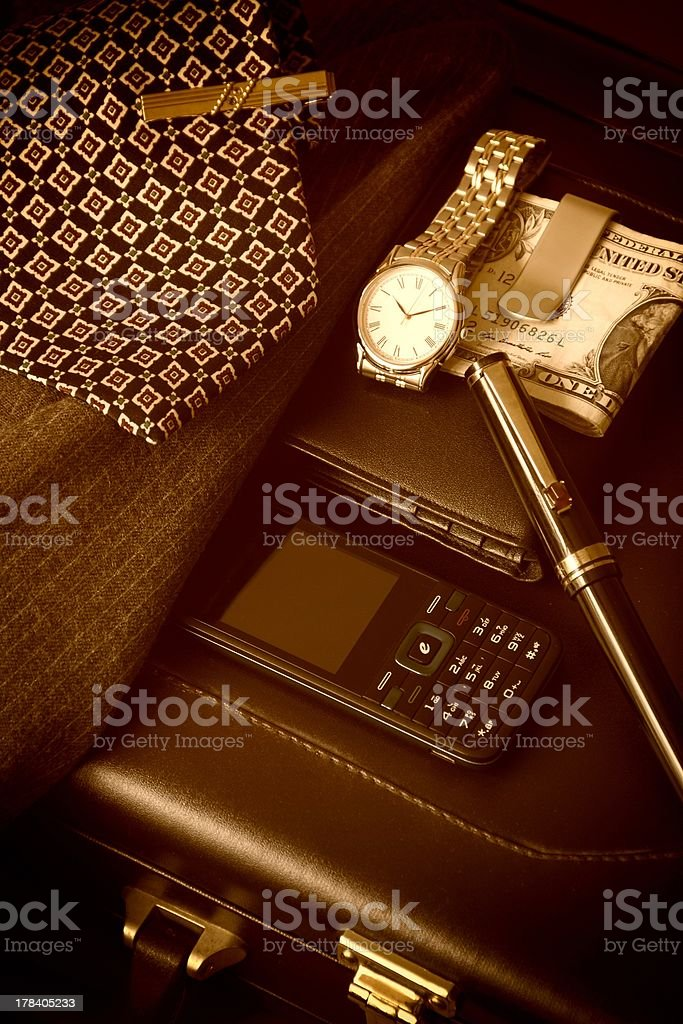 Businessman's Accessories royalty-free stock photo