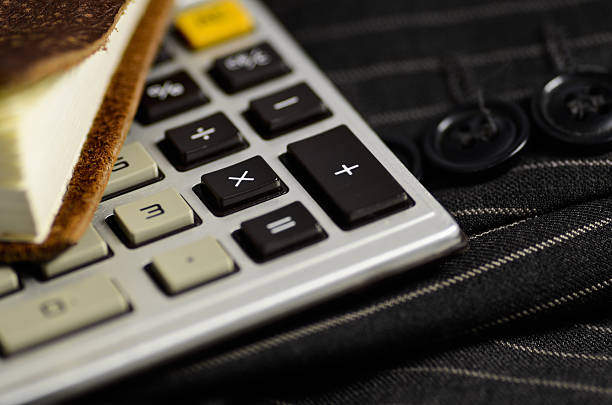 Businessman's Calculator stock photo