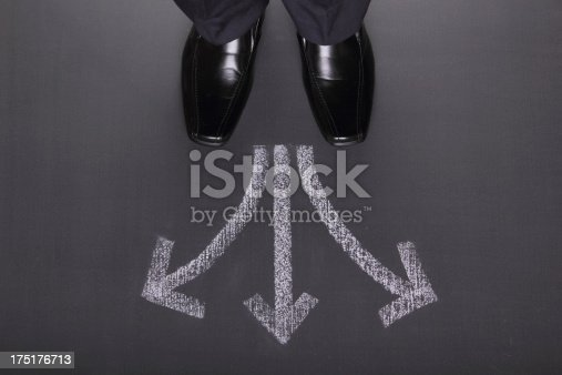 istock Businessman's Decisions 175176713