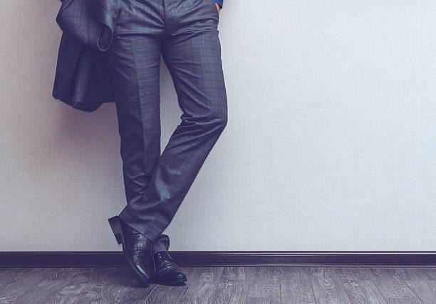 empresário de pernas - calça comprida - fotografias e filmes do acervo