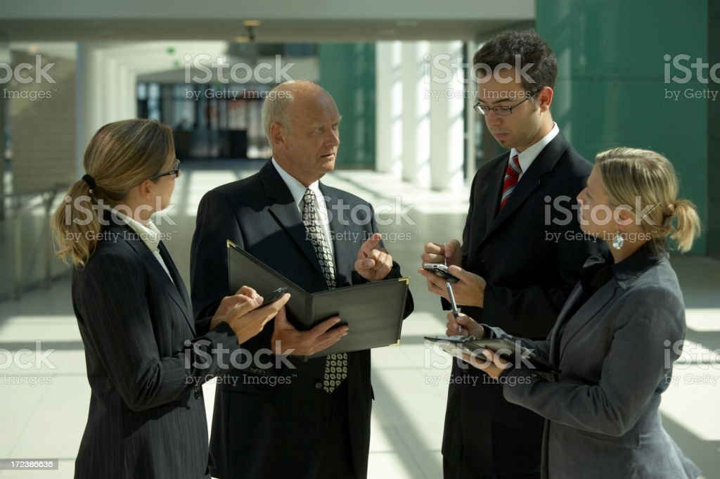 businessmeeting close royalty-free stock photo