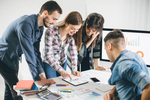 Firmenmeeting mit neuen Genossenschaften – Foto