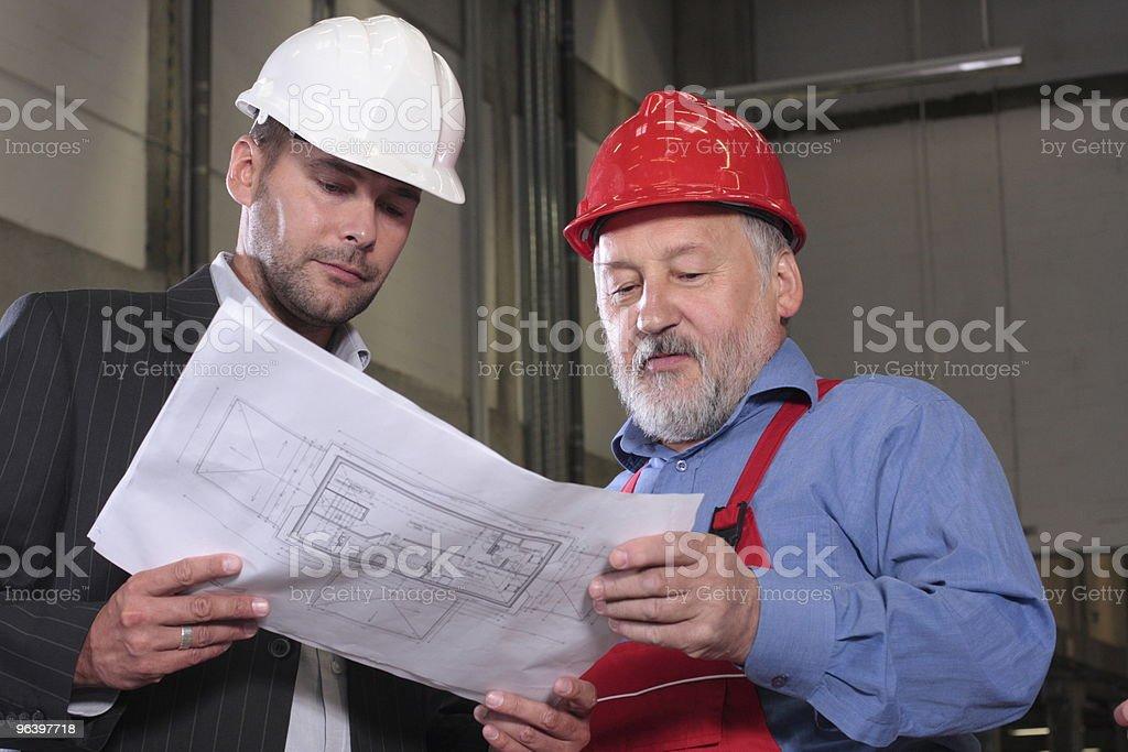 ビジネスマン以上の労働者 - 2人のロイヤリティフリーストックフォト