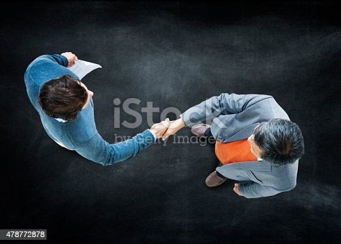 istock Businessmen Handshake Corporate Partnership Concept 478772878