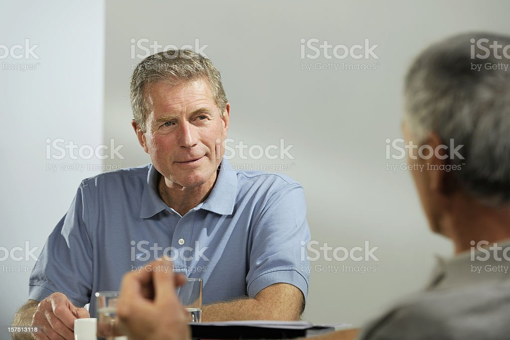 businessmen in casual clothes royalty-free stock photo