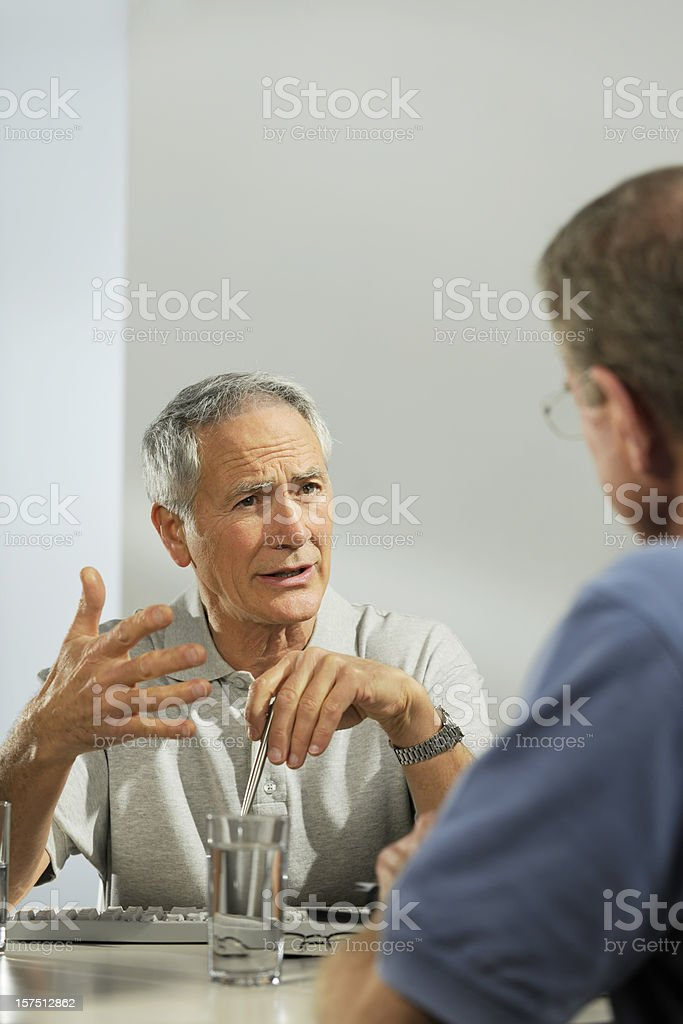 businessmen in casual dress royalty-free stock photo