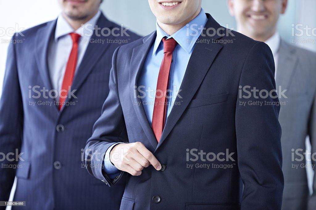 Businessmen in formal wear royalty-free stock photo