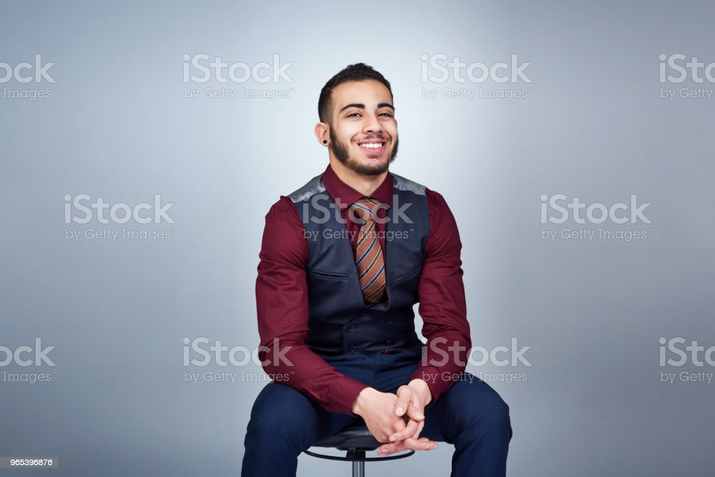 Businessmen know how to use their potential to the fullest royalty-free stock photo