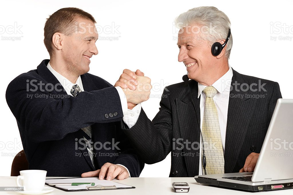 businessmen stock photo