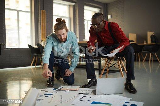 istock Businessmen Planning Project 1142921954