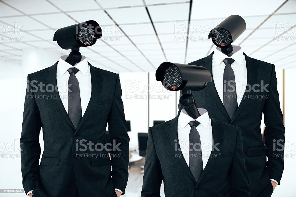 Business/organization security management stock photo