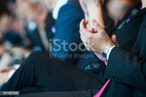 511305456 istock photo Businesspeople applauding 181061500