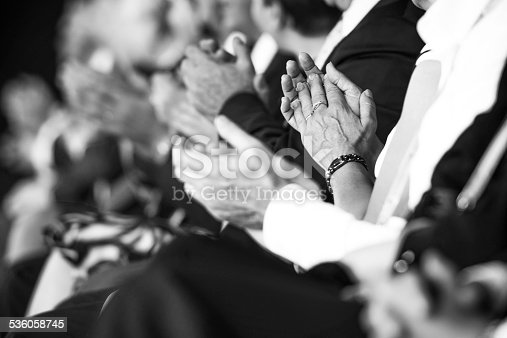 511305456 istock photo Businesspeople applauding 536058745