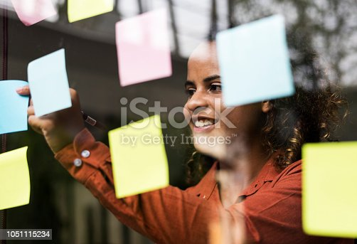 istock Businesspeople brainstorming with creative ideas 1051115234