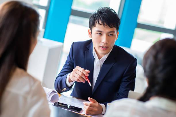 Geschäftsleute haben Treffen – Foto