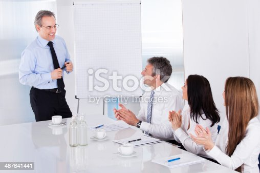 istock Businesspeople In Meeting 467641441