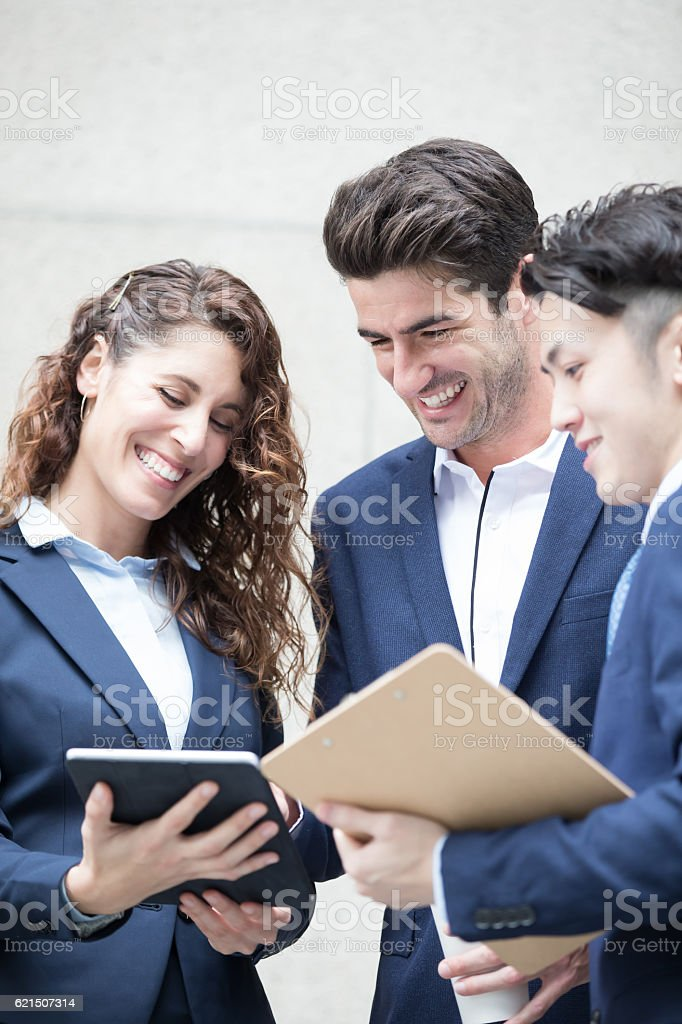 businesspeople meeting foto stock royalty-free
