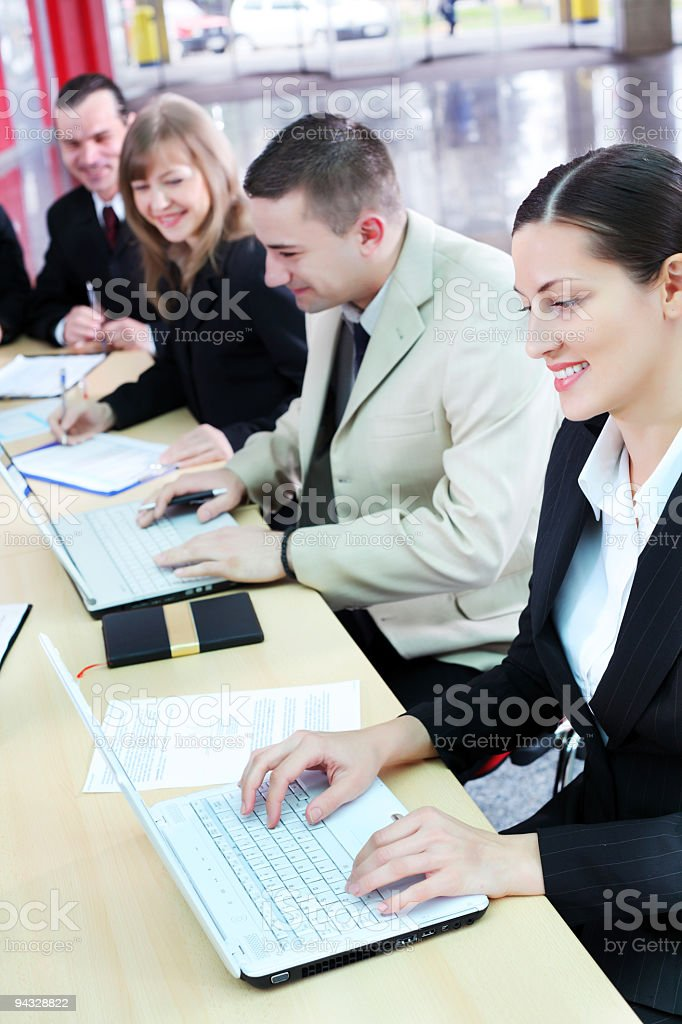 Businesspeople on work. royalty-free stock photo