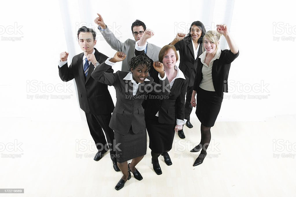 Businesspeople series royalty-free stock photo